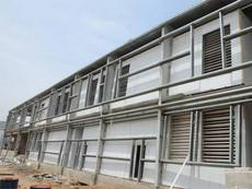 Prefabricated Air Washer Unit Installation at Arvind - Santej