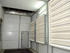 Prefabricated Air Washer Unit Installation at Arvind - Santej : Shirting Division